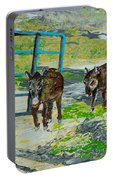 At The Farm Portable Battery Charger