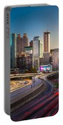 Atlanta Downtown Lights Portable Battery Charger
