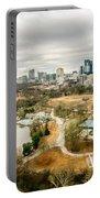 Atlanta Georgia City Skyline Portable Battery Charger