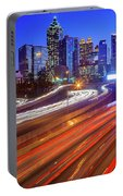 Atlanta Interstate I-85 By Night Portable Battery Charger