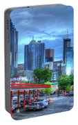 Atlanta Landmark The Varsity Art Portable Battery Charger