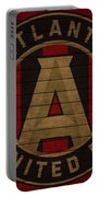 Atlanta United Barn Door Portable Battery Charger