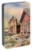 Atlantic City Ghost Town Wyoming Portable Battery Charger