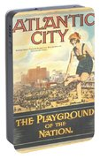 Atlantic City The Playground Of The Nation Portable Battery Charger