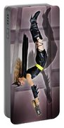 Attack Of The Bat Gal Portable Battery Charger