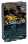 Attack On Fort Sumter Portable Battery Charger