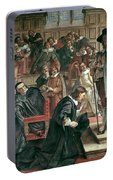 Attempted Arrest Of 5 Members Of The House Of Commons By Charles I Portable Battery Charger