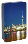 Auckland At Dusk Portable Battery Charger