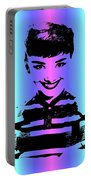 Audrey Hepburn Art Portable Battery Charger