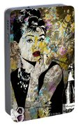 Audrey Hepburn Tribute  Portable Battery Charger