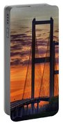 Audubon Bridge Sunrise Portable Battery Charger