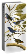 Audubon: Bunting, 1827-38 Portable Battery Charger