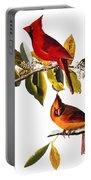 Audubon: Cardinal Portable Battery Charger