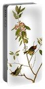 Audubon: Kinglet, 1827 Portable Battery Charger