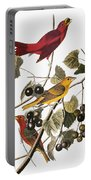 Audubon: Tanager Portable Battery Charger