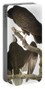 Audubon: Turkey Vulture Portable Battery Charger