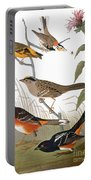 Audubon: Various Birds Portable Battery Charger