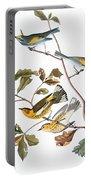 Audubon: Warbler, (1827-1838) Portable Battery Charger