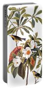 Audubon: Warbler, 1827-38 Portable Battery Charger