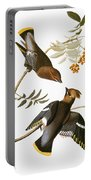 Audubon: Waxwing Portable Battery Charger