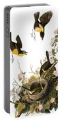 Audubon: Yellow Chat, (1827-38) Portable Battery Charger
