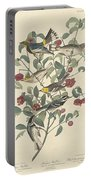 Audubon's Warbler Portable Battery Charger