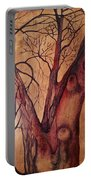 Mystical Tree Portable Battery Charger