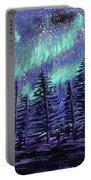 Aurora Borealis Portable Battery Charger
