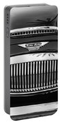 Austin Healey 3000mk II Grille - 0161bw Portable Battery Charger