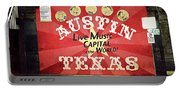 Austin Live Music Portable Battery Charger