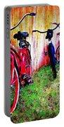 Austin Texas Bikes  -- Original Painting Portable Battery Charger