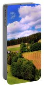 Austrian Rural Forest Vista Portable Battery Charger
