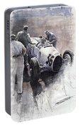 Auto Union B Type 1935 Italian Gp Monza B Rosermeyer Portable Battery Charger