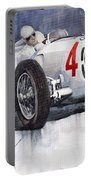 Auto Union C Type 1937 Monaco Gp Hans Stuck Portable Battery Charger