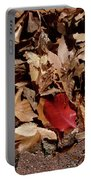 Autum Leaves Portable Battery Charger