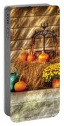 Autumn - Pumpkin - A Still Life With Pumpkins Portable Battery Charger
