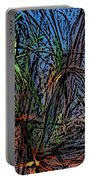 Autumn Abstraction Portable Battery Charger
