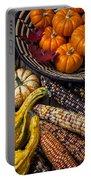 Autumn Abundance Portable Battery Charger