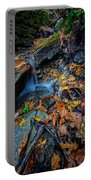Autumn At A Mountain Stream Portable Battery Charger by Rick Berk