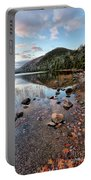 Autumn At Bubble Pond Portable Battery Charger