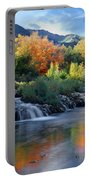 212m47-autumn At Cascade Springs  Portable Battery Charger