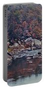 Autumn At Cumberland Falls Portable Battery Charger