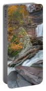 Autumn At Kaaterskill Falls Portable Battery Charger