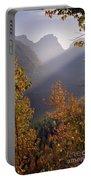 Autumn At Logan Pass Portable Battery Charger