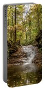 Autumn At Mill Creek Portable Battery Charger