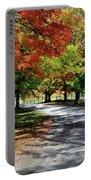 Autumn At Oatlands Lane Portable Battery Charger