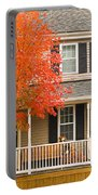 Autumn At The Inn Portable Battery Charger