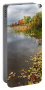 Autumn At The Lake In Nh Portable Battery Charger
