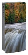 Autumn At The Middle Falls  Portable Battery Charger