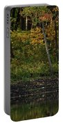Autumn At Wrights Pond Portable Battery Charger